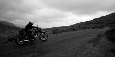 Recipes for Fulfilled Living: Collect Experiences  - man ride motorcycle