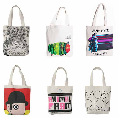 Out of Print summer totes