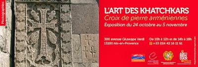 Expo: L'Art des Khatchkars - Aix-en-Provence
