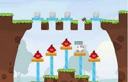 Juega a un juego similar a Angry Birds