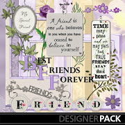 And today I picked # 342 and that item is 'Friends Forever Kit'. Woo Hoo!