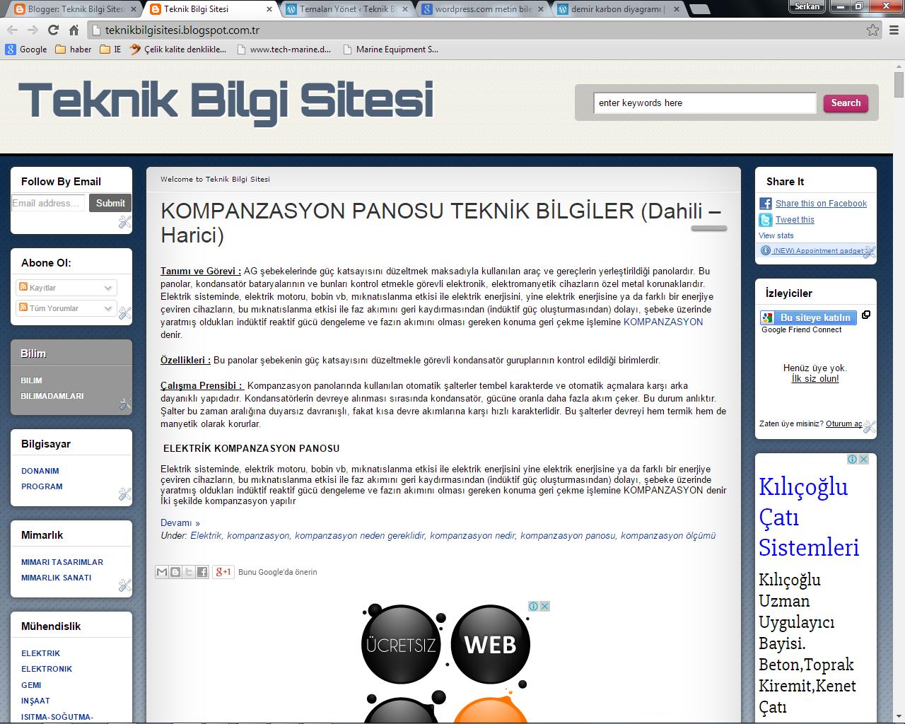 Teknik Bilgi Sitesi