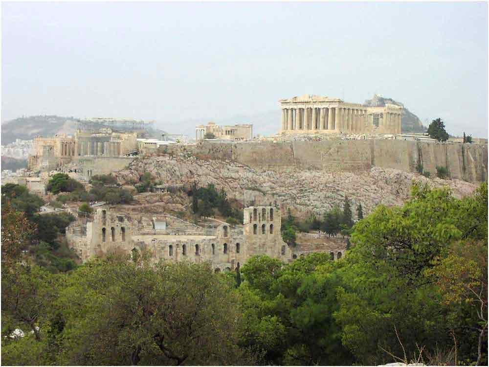 World Visits: Acropolis Of Athens Is An Ancient Citadel In ...