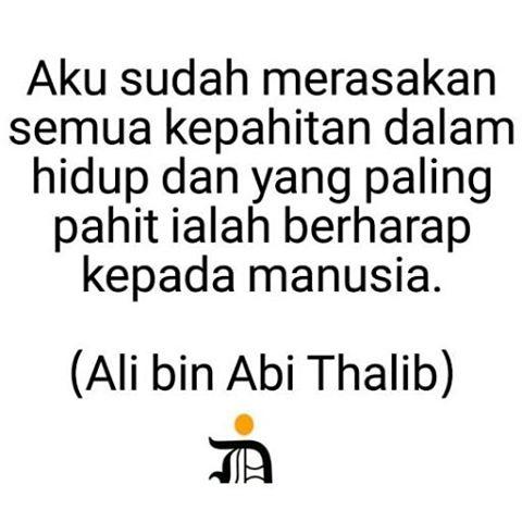 Hadits Ali Bin Abi Thalib Tentang Berharap Kepada Manusia 32