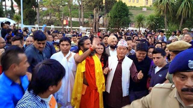 Ramdev Baba Bimal Gurung in Siliguri