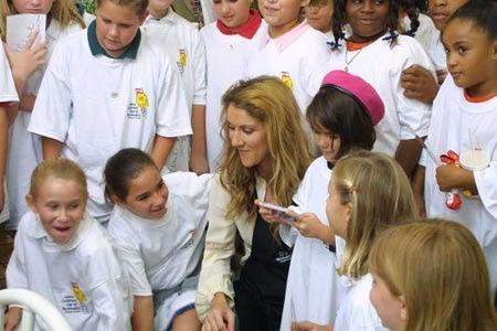 Celine Dion Children 2014