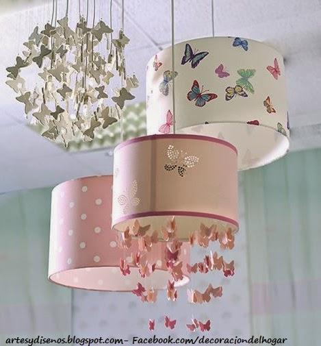 Lamparas para dormitorios infantiles decoraci n del - Lamparas para habitaciones infantiles ...