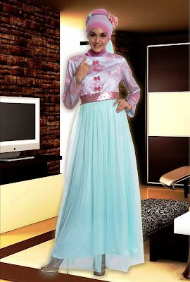 model baju muslim sifon cantik