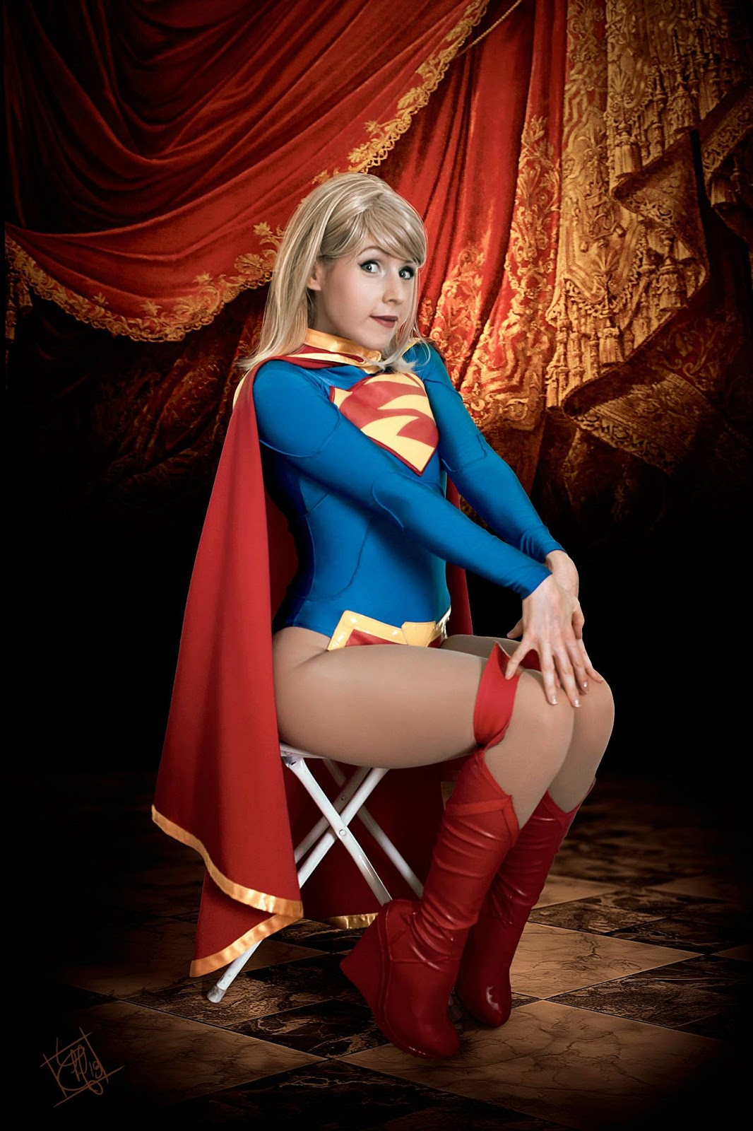 Pity, that Sexy cosplay supergirl hot