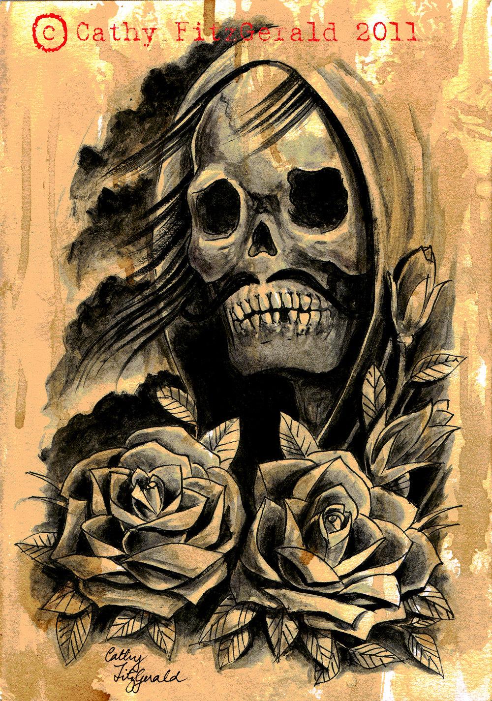Signification Tatouage Mexicain - TOP 60 des plus belles têtes de mort mexicaines