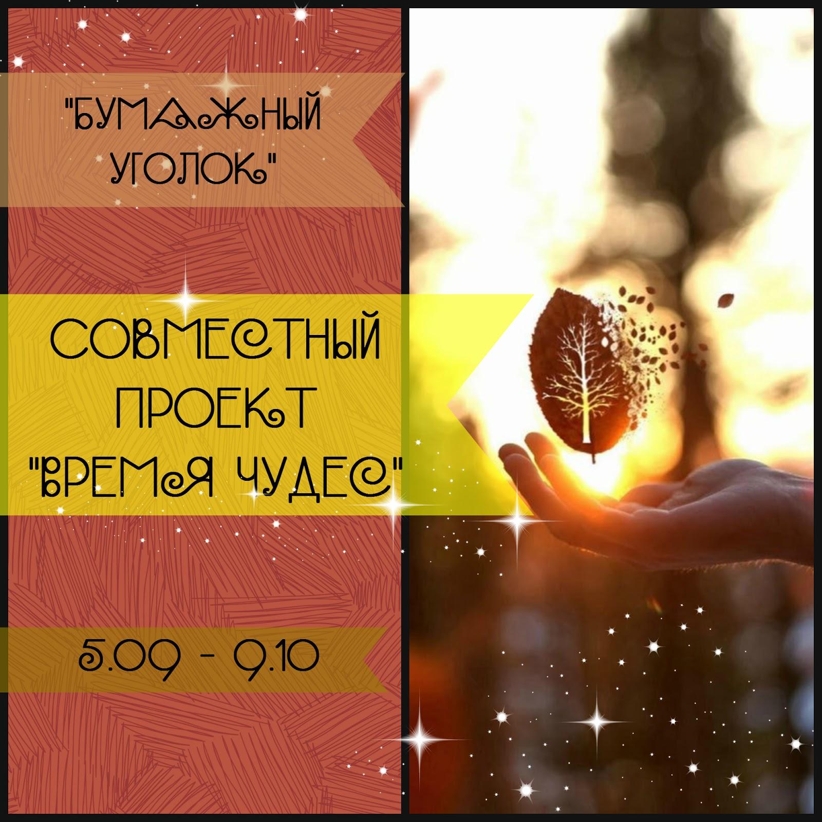 Совместный проект Время чудес!
