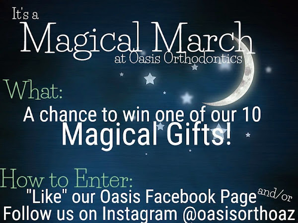 It's a Magical March at Oasis Orthodontics!
