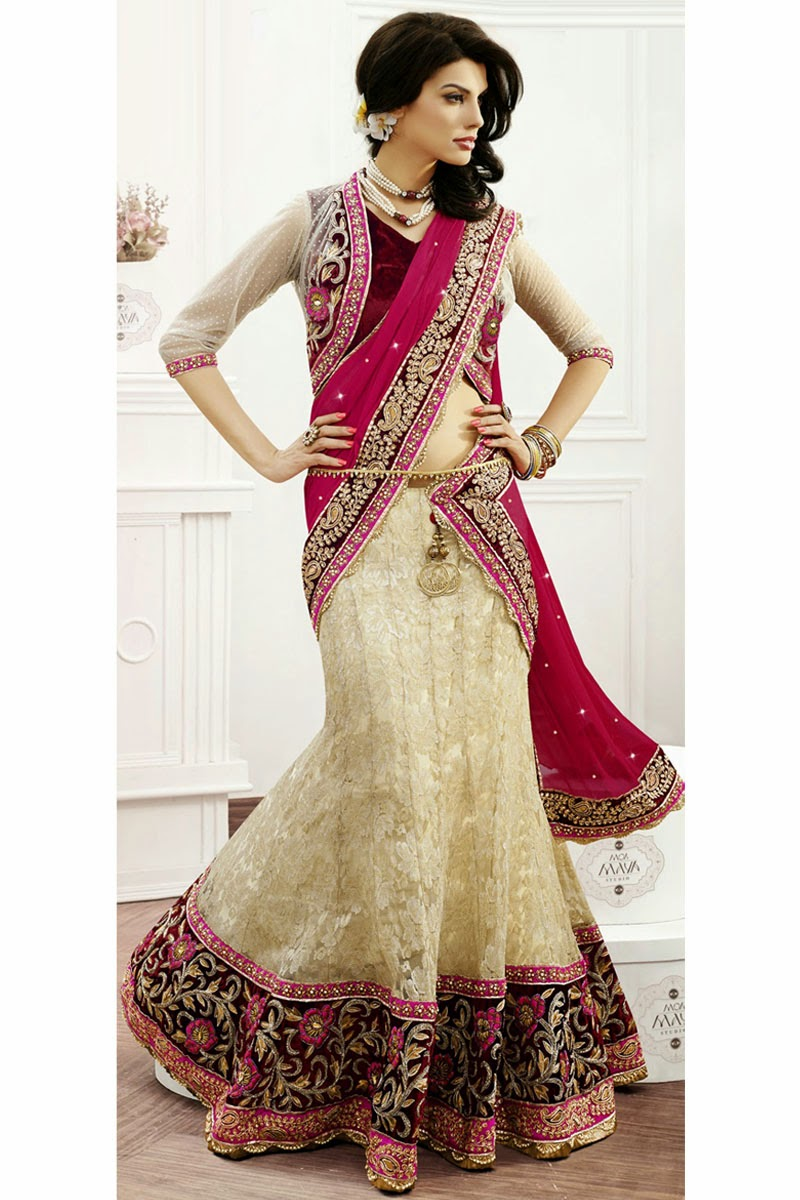 Bridal Lehenga Choli Collection in India   Women Clothing Online Store