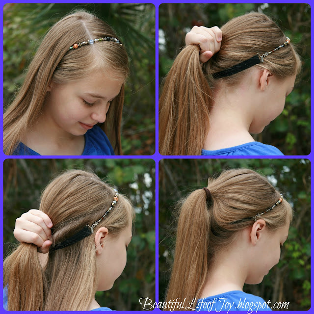 Beautiful Life of Joy: Lilla Rose Hairstyle Tutorials