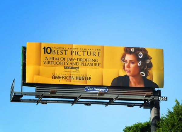 Amy Adams American Hustle Oscar consideration billboard