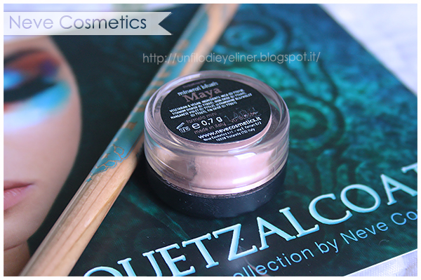 Haul & Swatch Neve Cosmetics: Quetzalcoatl Maya