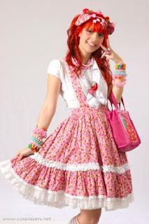 fotos e imagens de modelos de Vestidos Japoneses