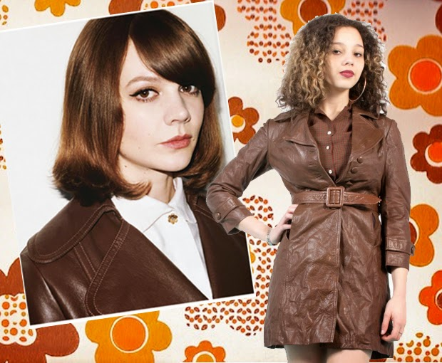 carey mulligan, 70's, boho style, bohemian, leather, wall street journal, the vintage scene, asos marketplace