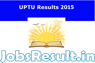 UPTU Results 2015