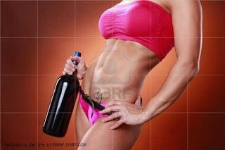 fuerza, pesas, cerveza, vino, alcohol, ejercicio, fitness, disicoculturismo