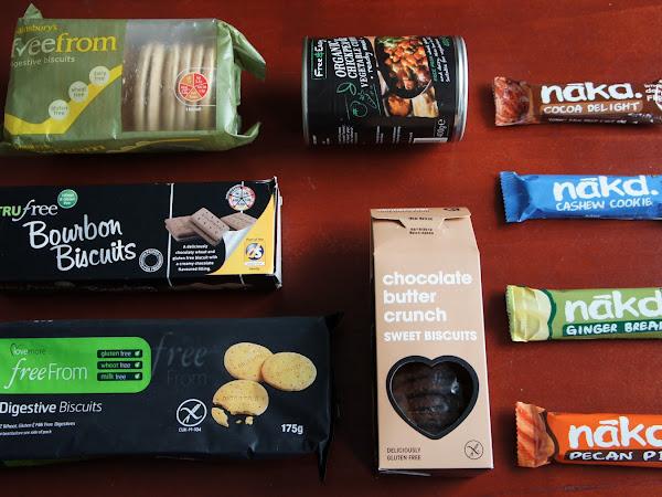 10. glutenfreie Kiste - Produkte aus England