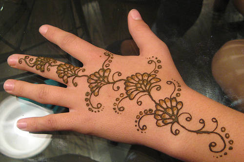 Pakistan cricket player henna designs for beginners