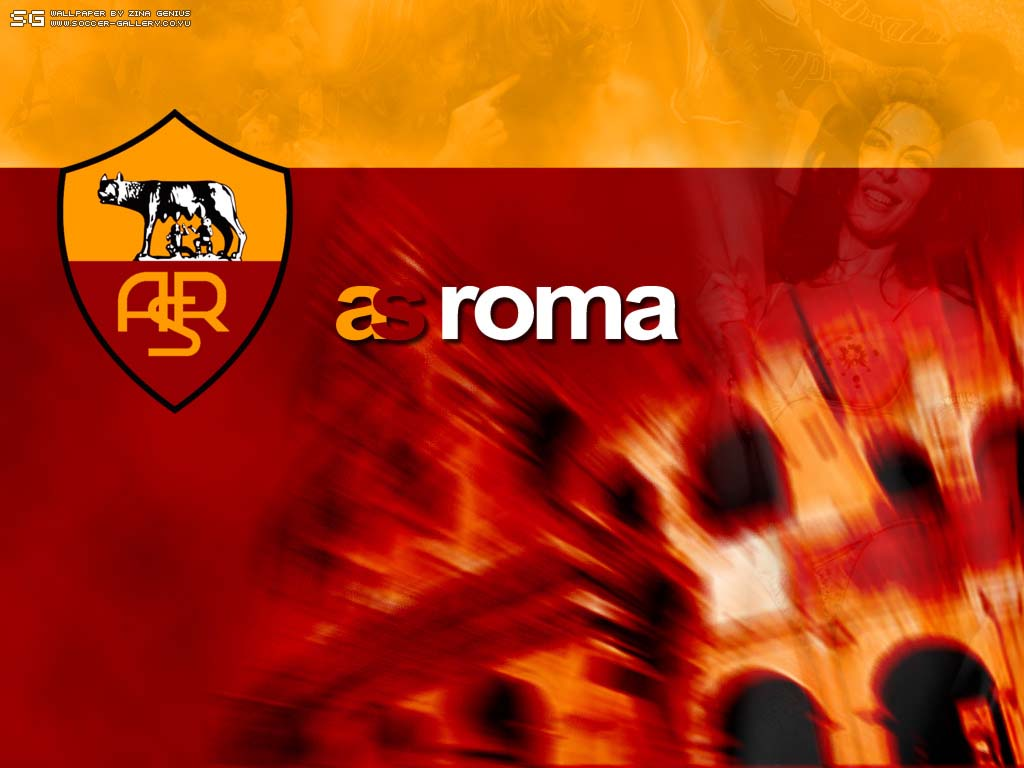 AS Roma are also identical with maroon and golden yellow, representing ...