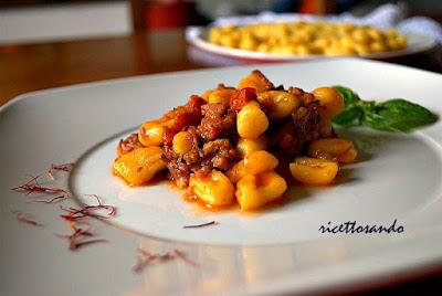 Maloreddus alla boscaiola ricetta tradizionale