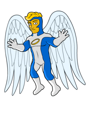 Angel_Blue_Marvel_Comics_Simpson