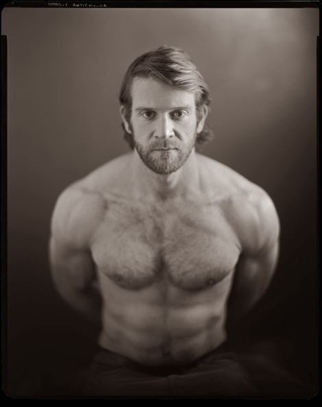 Colby Keller Shirtless Portrait by Kelly Grider