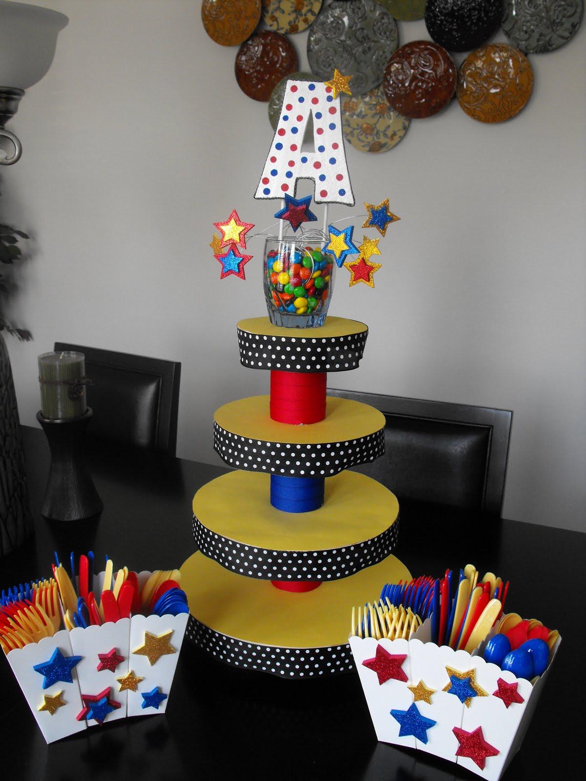 aj 39 s cupcakes diy cupcake stand. Black Bedroom Furniture Sets. Home Design Ideas