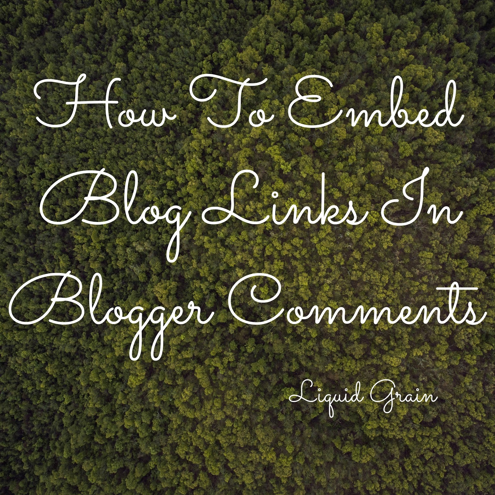 how to comment on blogger with blog links embed blog links in blogger