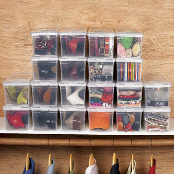 & The Funky Monkey: BrylaneHome: Set of 10 Dust-Free Shoe Storage Boxes Aboutintivar.Com