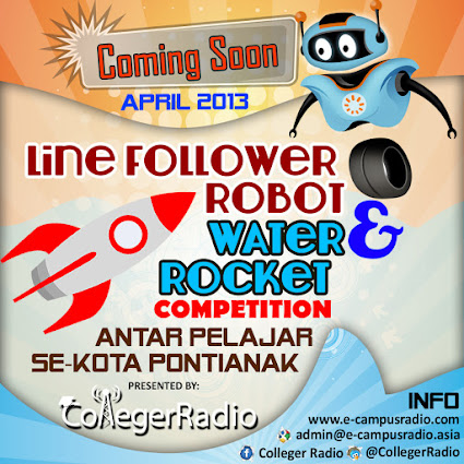 Colleger Radio, Present April 2013
