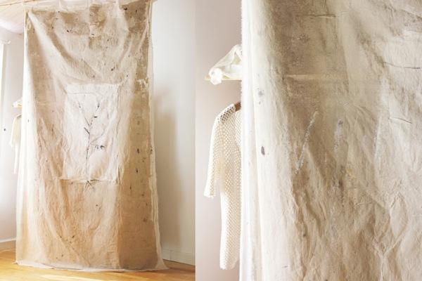 Méchant Studio Blog: hand paint fabric