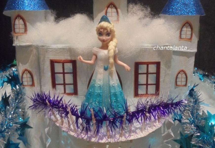 Замок для снежной королевы своими руками 71