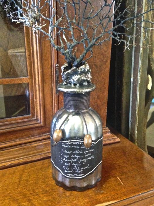 Halloween bottles The Pickled Hutch