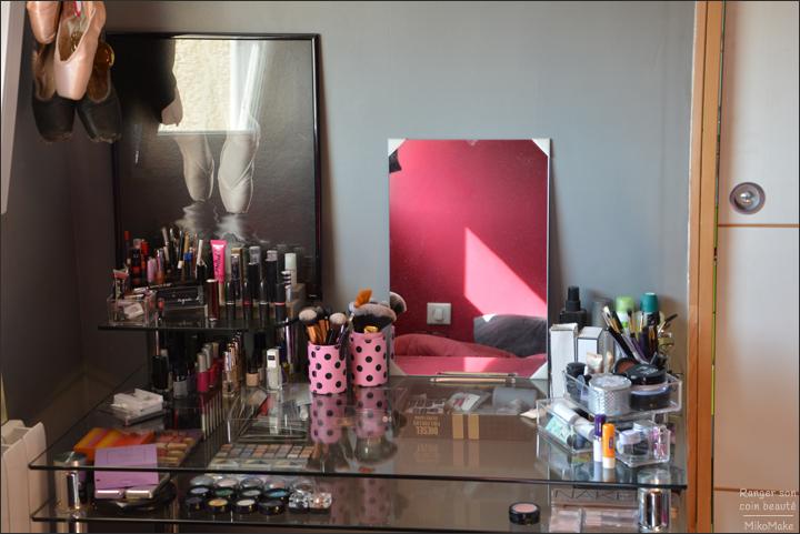 Ranger et trier son maquillage organiser son coin beaut - Comment ranger sa coiffeuse ...