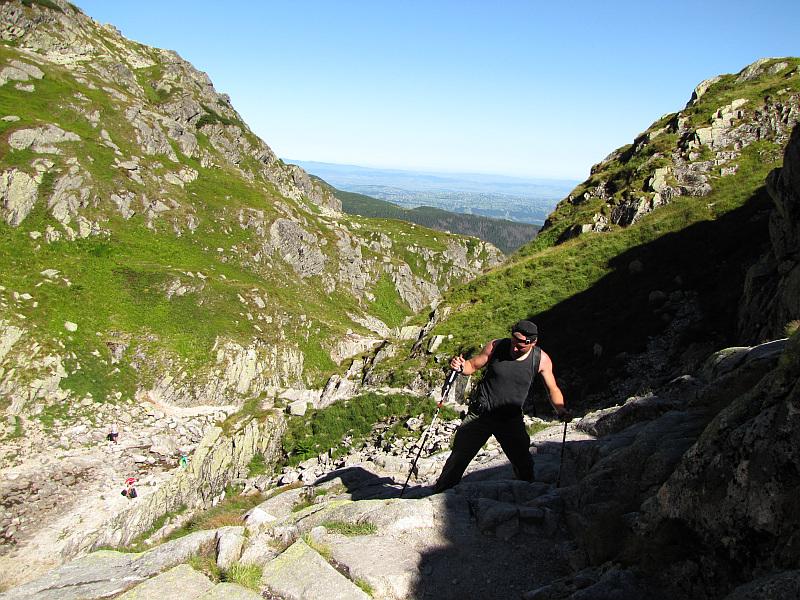 Podejście na Dolinkę Kozią.