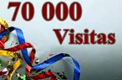 70.000 GRACIAS A TODOS USTEDES.