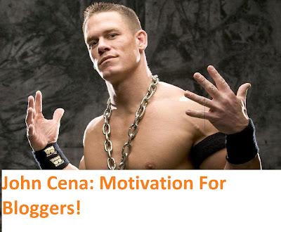John Cena- A True Example Of Building A Great Blog Readership!