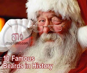 Top 10 Famous Beards in History
