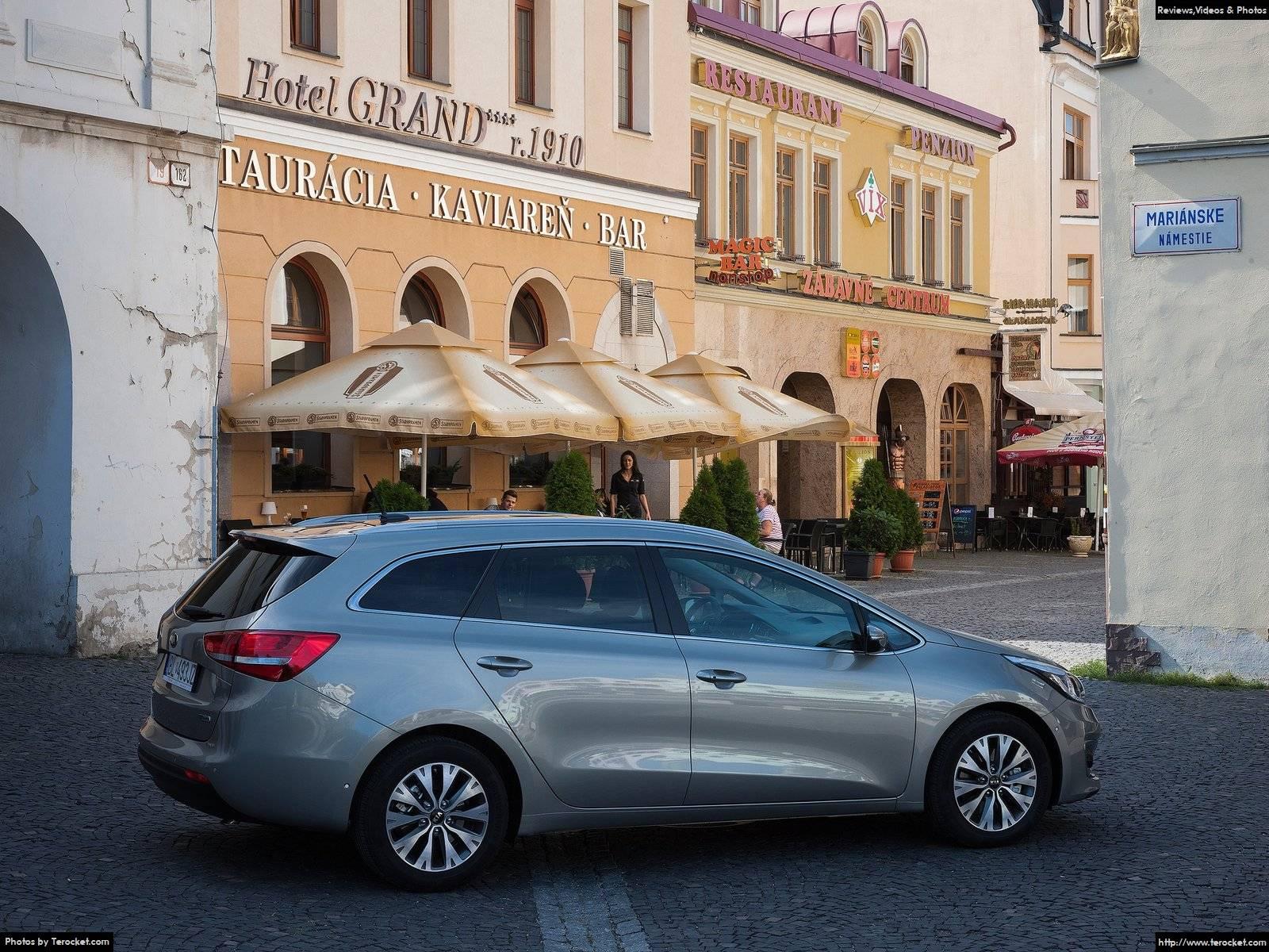 Hình ảnh xe ô tô Kia Ceed SW 2016 & nội ngoại thất