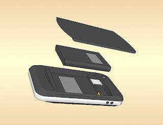 Lepas Baterai Handphone