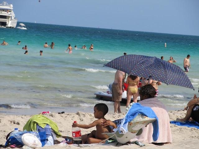 Miami Beach,Florida beach,Teresita Blanco