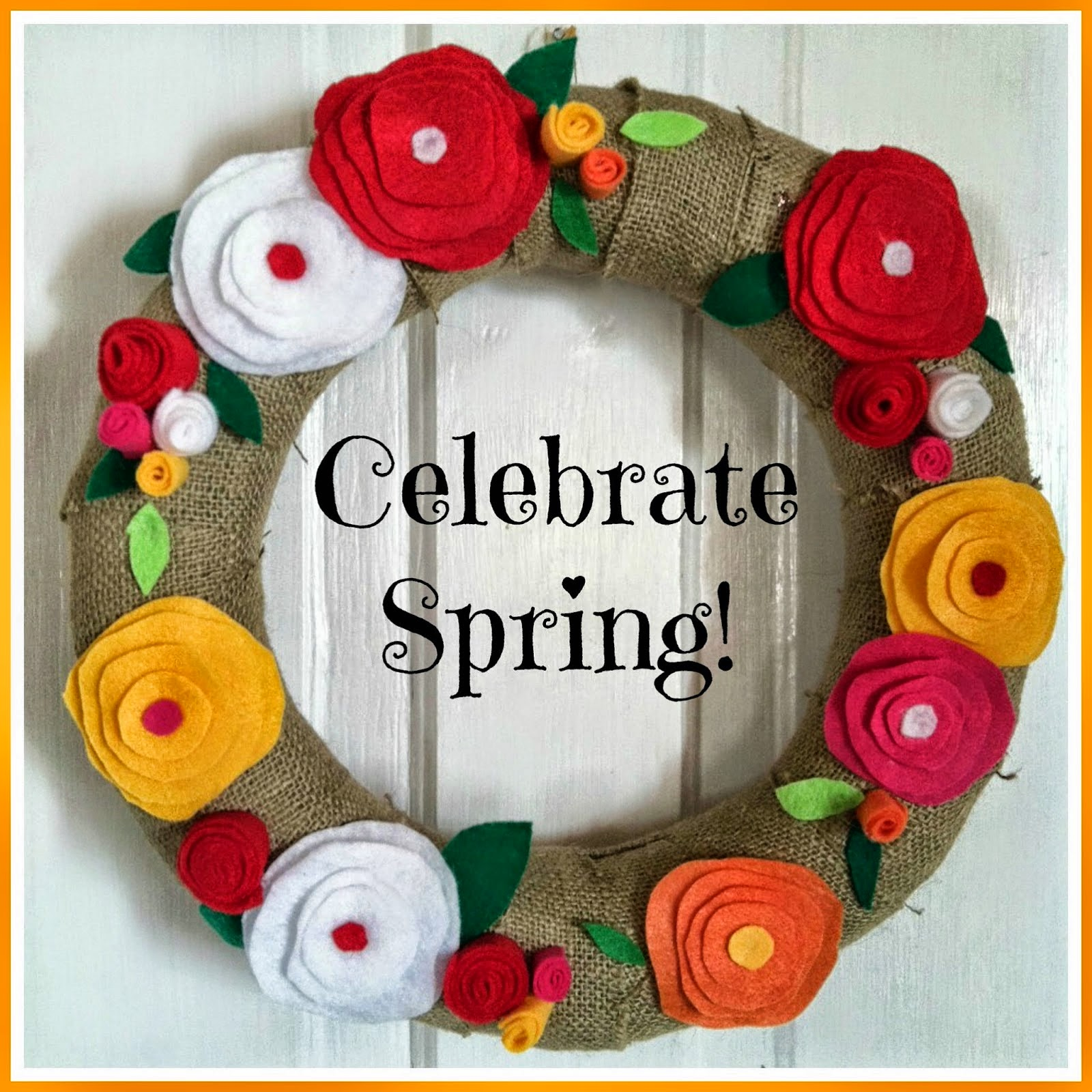 SPRING WREATH HOW TO