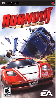 Burnout Legend PSP
