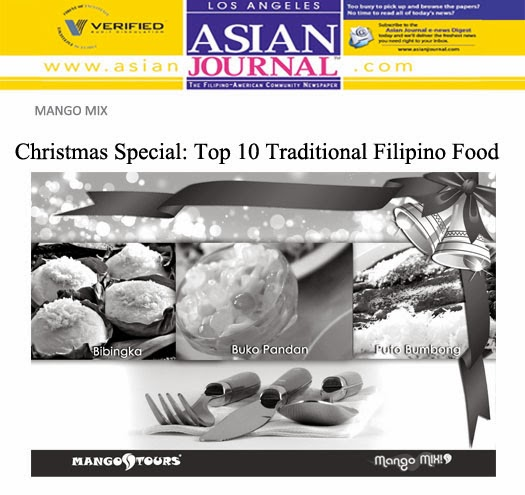 Mango Mix Christmas Special Top 10 Traditional Filipino Food Bibingka Buko Pandan Buto Bumbong