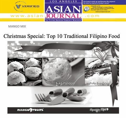 Mango Mix Christmas Special Top 10 Traditional Filipino Food Bibingka Buko Pandan Buto Bumbong