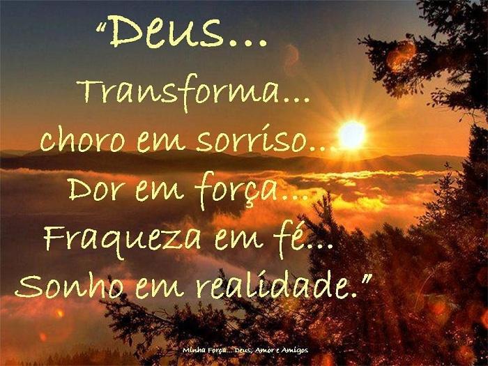 Cristo Minha Certeza Deus Transforma Choro Em Sorriso Dor